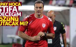 Alpay Hoca 'istifa edeceğim' sözünü tutacak mı?