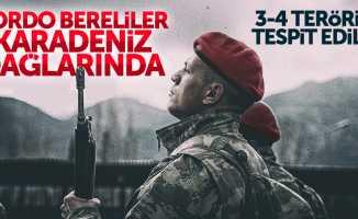 Bordo bereliler Karadeniz'de PKK avına çıktı
