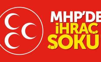 Samsun MHP'de ihraç şoku