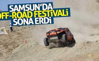 Samsun'da Off-Road Festivali sona erdi