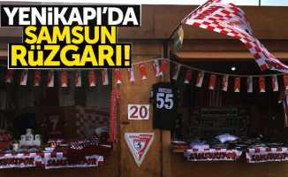 Yenikapı'da Samsun rüzgarı