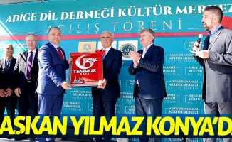 Başkan Yılmaz Konya'da