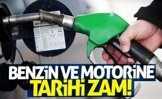 Benzin ve motorine tarihi zam!