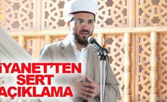 Diyanet'ten İhsan Şenocak açıklaması