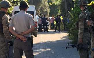 Muğla'da aranan terörist kendini patlattı
