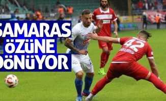 Samaras özüne dönüyor
