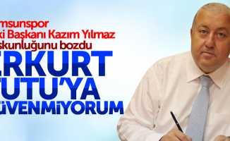 Samsunspor eski Başkanı Kazım Yılmaz suskunluğunu bozdu