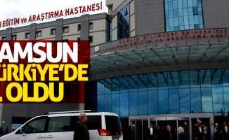 Samsun Türkiye birincisi oldu