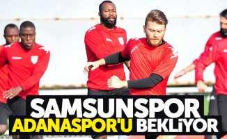 Samsunspor Adanaspor'u bekliyor