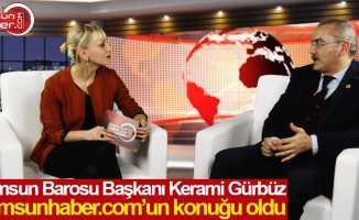 Baro Başkanı Kerami Gürbüz'den önemli açıklamalar