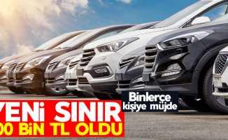 ÖTV'siz araçlarda yeni sınır 200 bin lira oldu