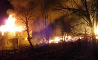 Sinop'ta çıkan yangın korkuttu