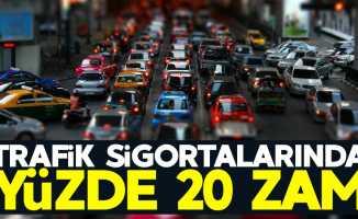 Trafik sigortalarında yüzde 20 zam bekleniyor