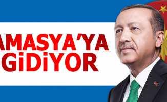 Cumhurbaşkanı Erdoğan Amasya'ya gidiyor