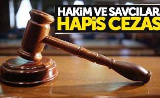 Samsun'da hakim ve savcılara hapis cezası