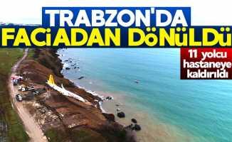 Trabzon Havalimanı'nda faciadan dönüldü