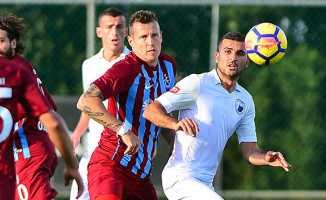 Trabzonspor'dan yeni yılın ilk galibiyeti