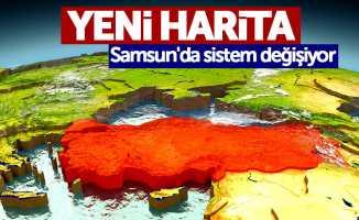 Yeni harita: Samsun'da sistem değişiyor