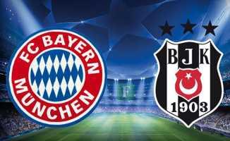 Beşiktaş Bayern'e direnemedi