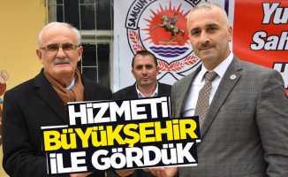 Muhtar Sarıoğlu: Hizmeti Büyükşehir ile gördük