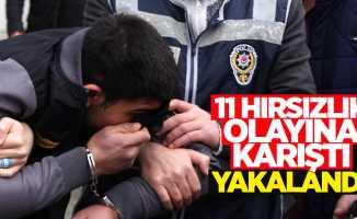 Samsun'da aranan hırsızlık zanlısı yakalandı