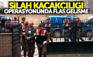 Samsun'da silah kaçakçılığı operasyonunda flaş gelişme