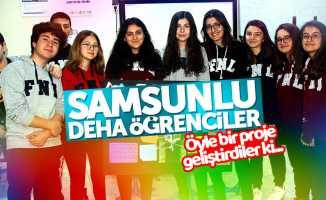 Samsunlu öğrencilerden müthiş projesi: Arya