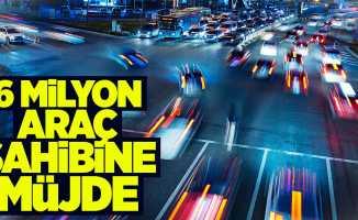 6 milyon araç sahibi için beklenen karar meclisten geçti