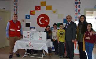 Atatürk Ortaokulu'ndan Mehmetçiğe destek