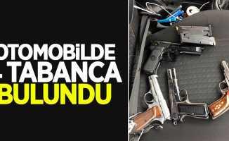 Samsun'da 4 tabanca ele geçirildi