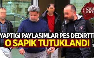 Samsun'da sapık paylaşımlar yapan adamın evine operasyon