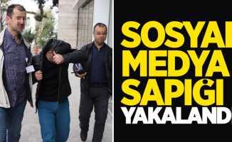 Samsun'da sosyal medya sapığı yakalandı
