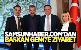 Samsunhaber.com Başkan Genç'i Ziyaret Etti