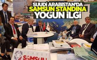 Suudi Arabistan'da Samsun standına yoğun ilgi