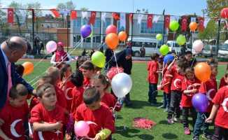 Alaçam'da çocuk bayramı kutlandı
