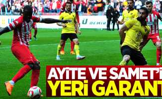 Ayite ve Samet'in yeri garanti
