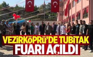 Vezirköprü'de TUBİTAK Fuarı açıldı