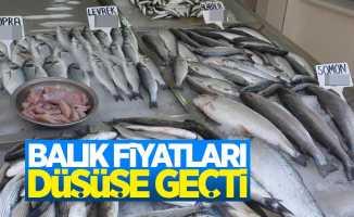 Ramazan'da balık fiyatları düşüşe geçti