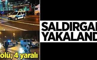 Samsun'da 1 kişiyi öldürüp, 4 kişiyi yaralayan zanlı yakalandı
