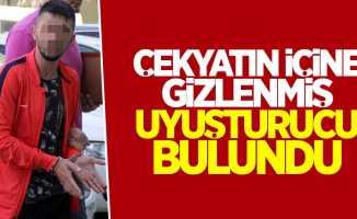 Samsun'da çekyatın içinde uyuşturucu bulundu