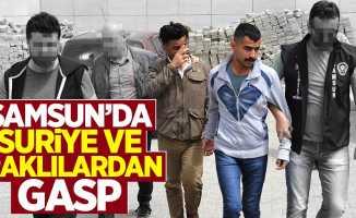 Samsun'da Suriyeli ve Iraklılardan gasp