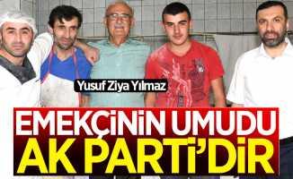 Yusuf Ziya Yılmaz: Emekçinin umudu AK Parti'dir