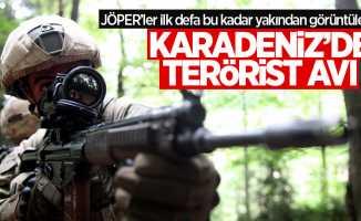 JÖPER'ler Karadeniz'de terörist arıyor