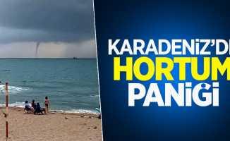 Karadeniz'de hortum paniği