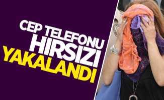 Samsun'da cep telefonu çalan hırsız yakalandı
