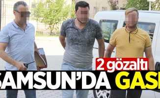 Samsun'da cep telefonu gaspı iddiasına 2 gözaltı