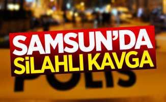 Samsun'da silahlı kavga: 1 gözaltı