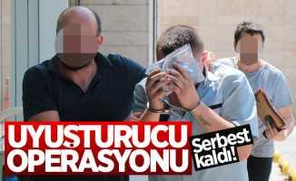 Samsun'da uyuşturucudan gözaltına alınan şahıs serbest