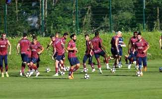 Trabzonspor'da çalışmalar Slovenya'da sürüyor