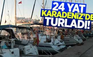 24 yat, Karadeniz'de turladı